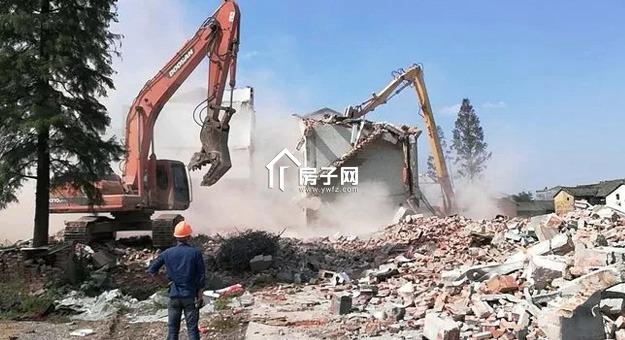 推进义乌重点项目进程,城西街道横山村完成整村拆除!