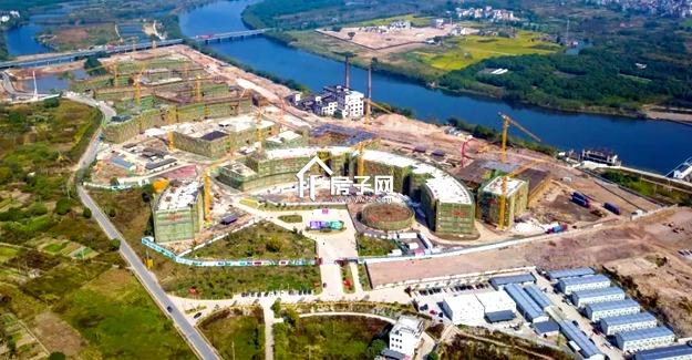 多栋教学楼、宿舍楼结顶!中国计量大学现代科技学院已雄姿初显