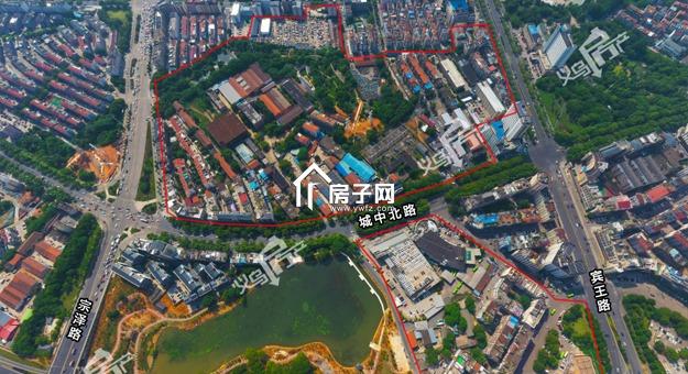重磅!秦塘区块国有土地上房屋征收范围图公布,涉及约594户