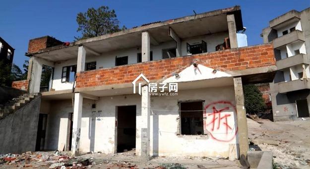 稠江下何宅村拆完85户农房 未来将提供900多套房屋用以安置