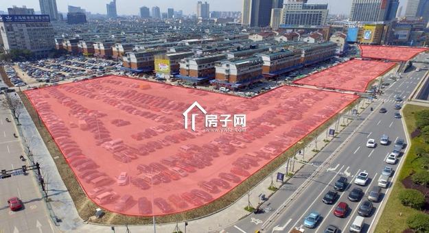 楼面价14374.20元,兴中小区边商住地块9.998亿挂牌