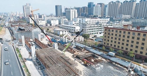 我市县前街南延段、金义东义乌段、双江湖计量大学等重点工程全线提速